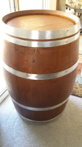 Renovated Used Wine Barrel